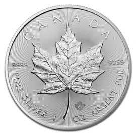 Maple Leaf en Argent - 31,1 g (1 Oz) - Canada Face